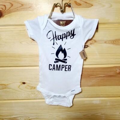 Happy Camper Infant Onesie | Size 3-9 month