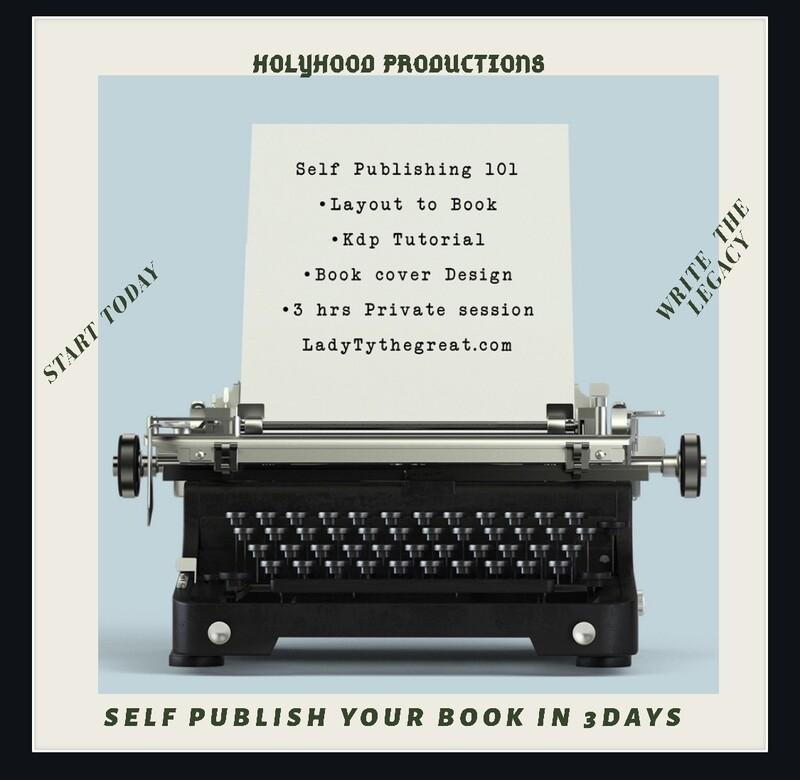 HolyHood -Self Publishing 101 - AUTHORITY OF THE AUTHOR