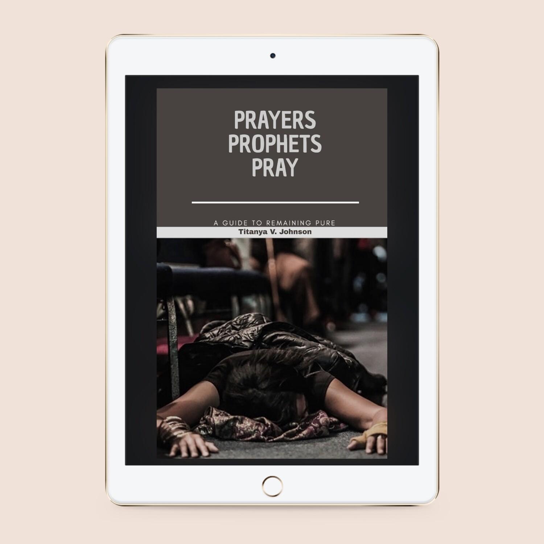 Prayers that Prophets pray (ebook)