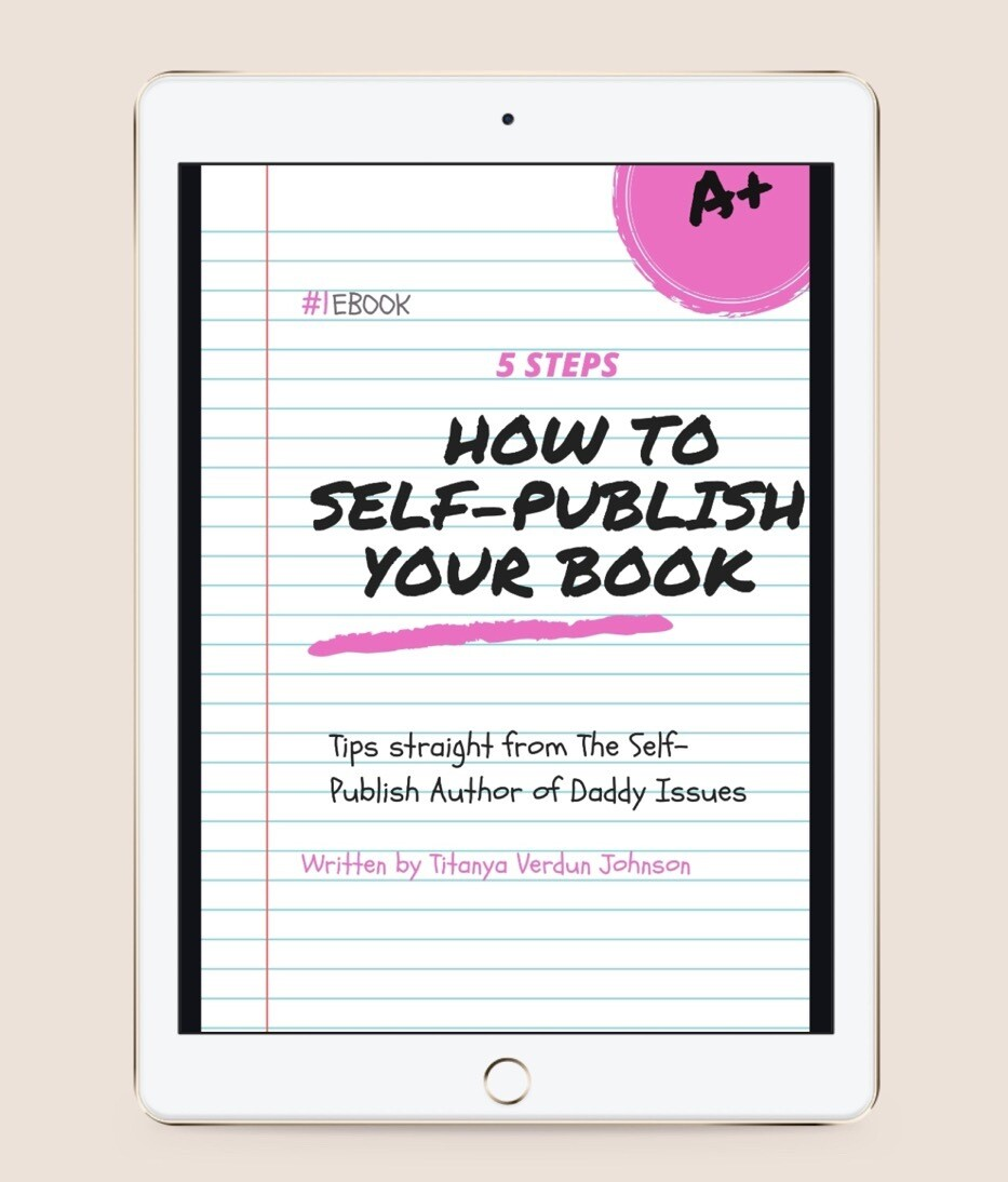 5 Steps How To Self publish Your book (ebook)