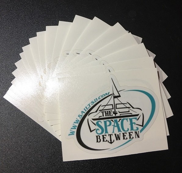 The Space Between Sticker 4pack