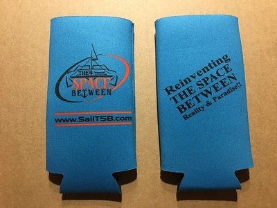 The Space Between Slim Line Koozie