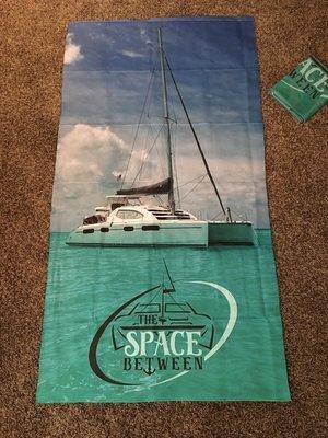 STSB Lightweight Microfiber Beach Towel 32x60