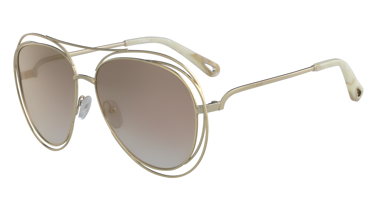 Chloé Carlina Aviator CE134S 794