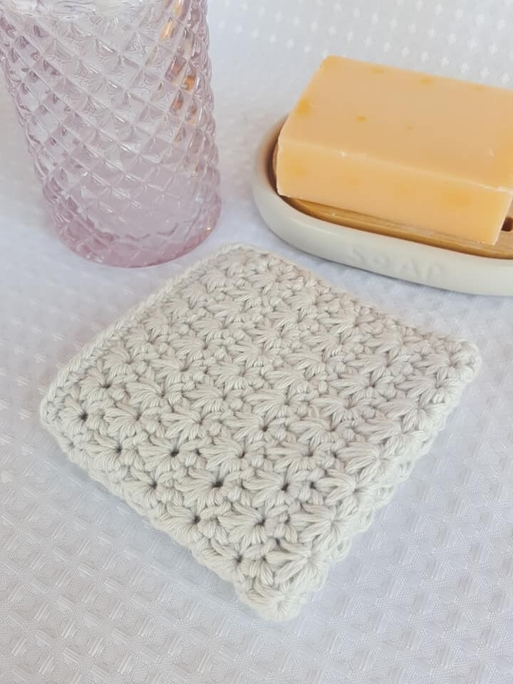 Made to Order | Crochet Face Washer - Soft Cloud