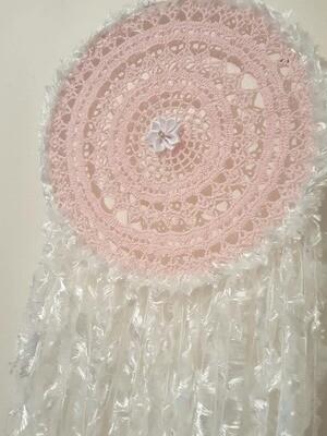 Handmade Crochet Dream Catcher - 22cm