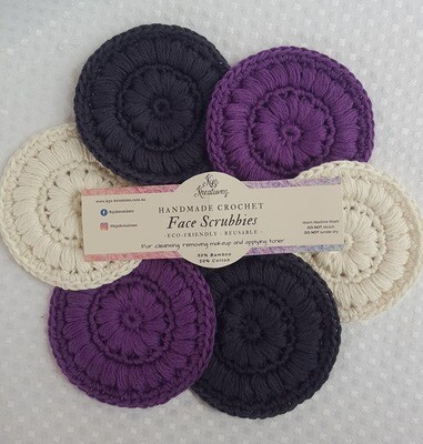 Made to Order | Face Scrubbies (pack of 6) - Purple Haze