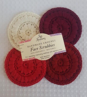 Made to Order | Face Scrubbies (pack of 4) - Berrylicious