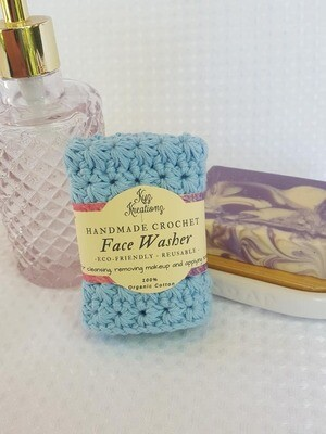 Made to Order | Crochet Face Washer - Fresh Air