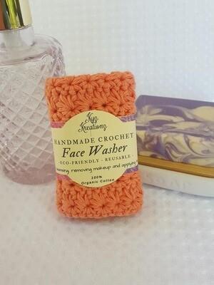 Made to Order | Crochet Face Washer - Desert Bloom