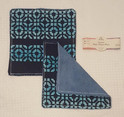 Reusable Multi-Purpose Wipe (Non paper towel) - blue