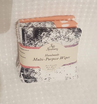 Reusable Multi-Purpose Wipes (Non paper towel) - pack of 3