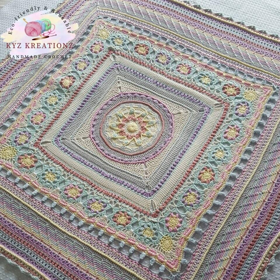 Crochet 'Magical Moments' Blanket