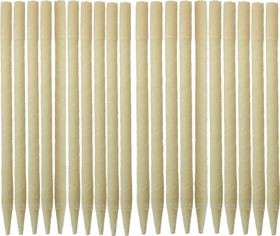 20pk 100% Paraffin Ear Candles