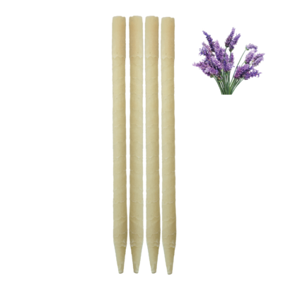 4pk Lavender Beeswax Ear Candles