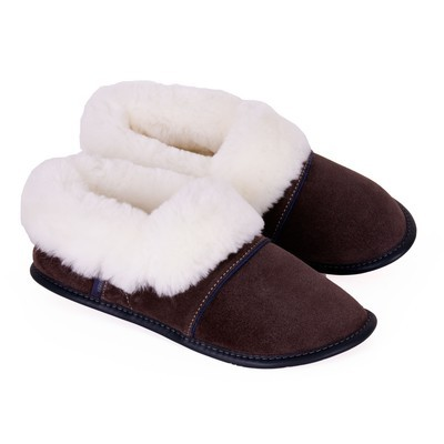 Sheepskin full slippers