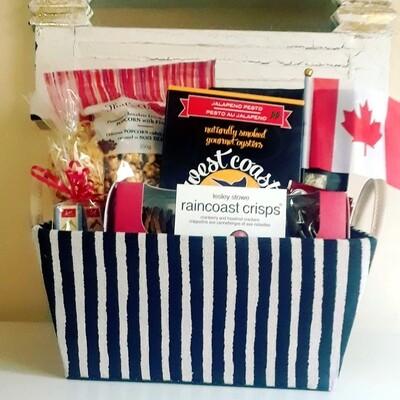 Canada Day Basket