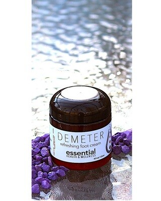 Demeter Peppermint Foot Cream 120g/4oz Jar