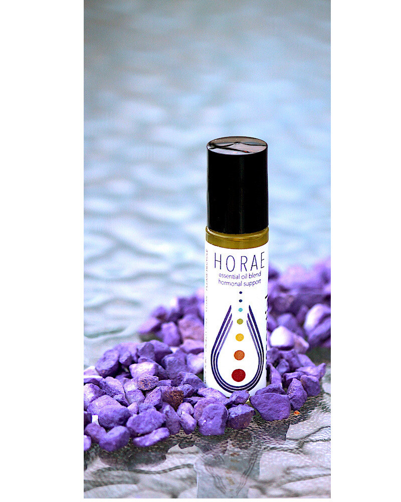 The Horae hormone /hot flash blend is 10ml