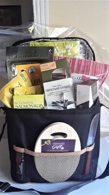 Cooler picnic basket
