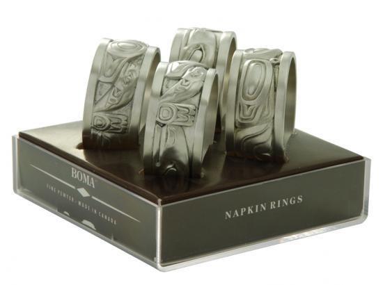 Native Pewter Napkin Rings