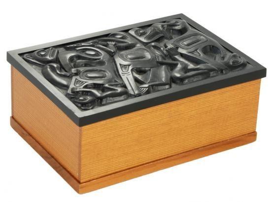 Desk Box - Black Inlay