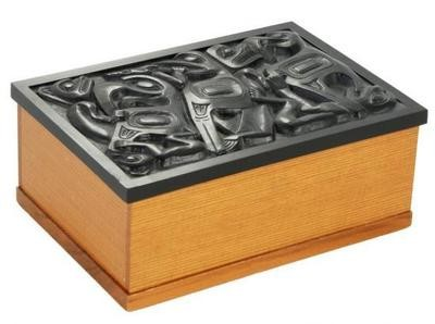 Desk Box - Black Inlay