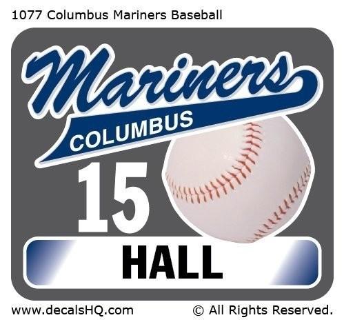 Columbus Mariners Baseball