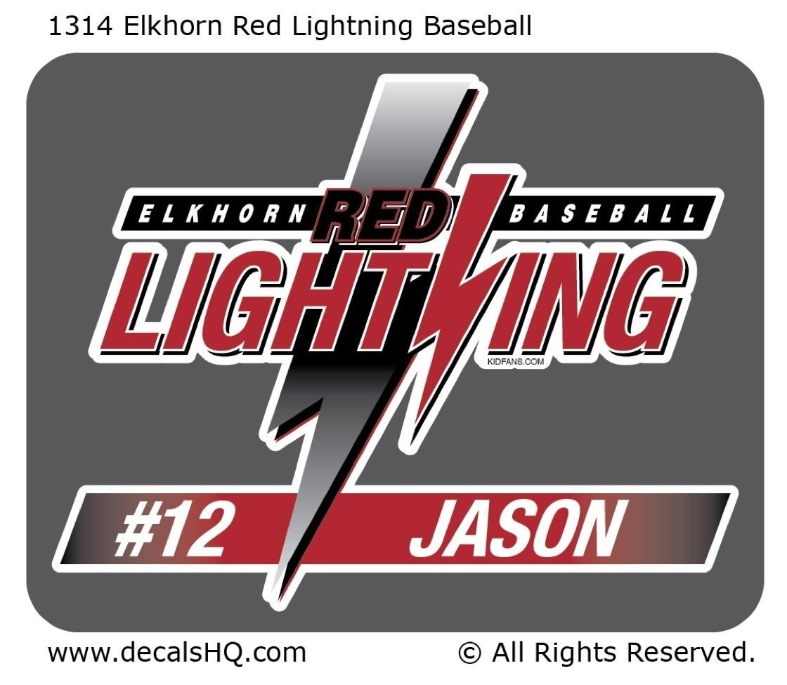Elkhorn Red Lightning Baseball