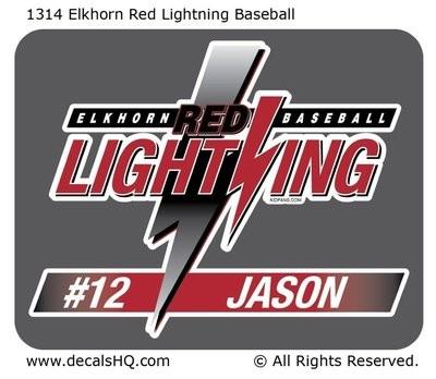 Elkhorn Red Lightning Baseball