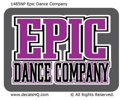 Epic Dance Company (Non-Personalized)