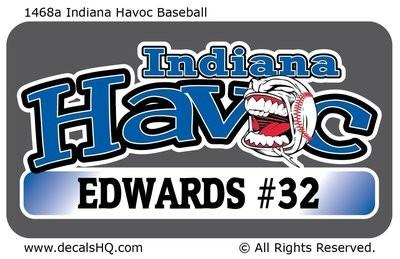 Indiana Havoc Baseball or Softball