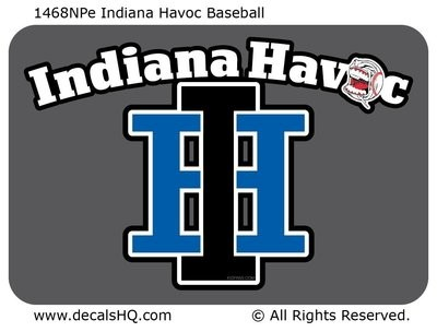 Indiana Havoc Baseball or Softball (Non-Personalized)