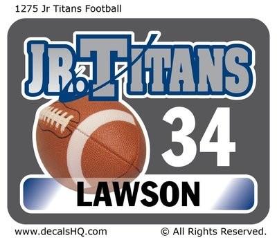Jr Titans Football