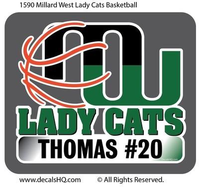 Millard West Lady Cats Basketball