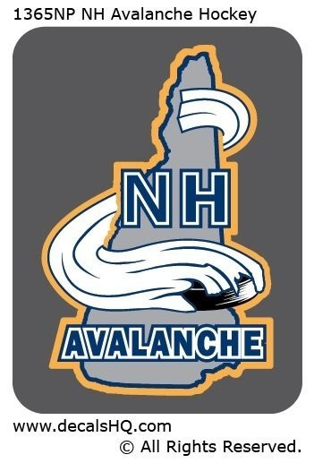 NH Avalanche Hockey (Non-Personalized)