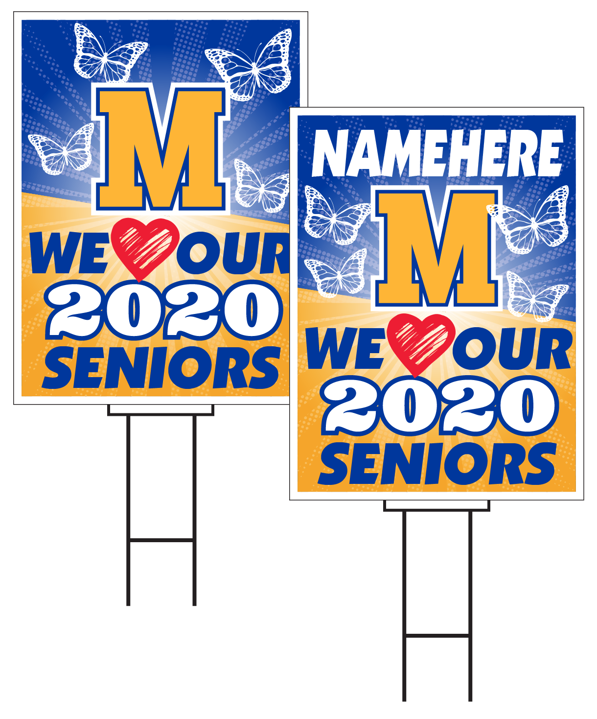Mercy Senior Sign