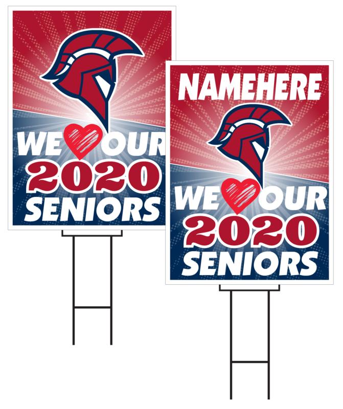 Platteview Senior Sign