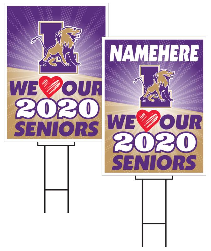 Louisville Senior Sign