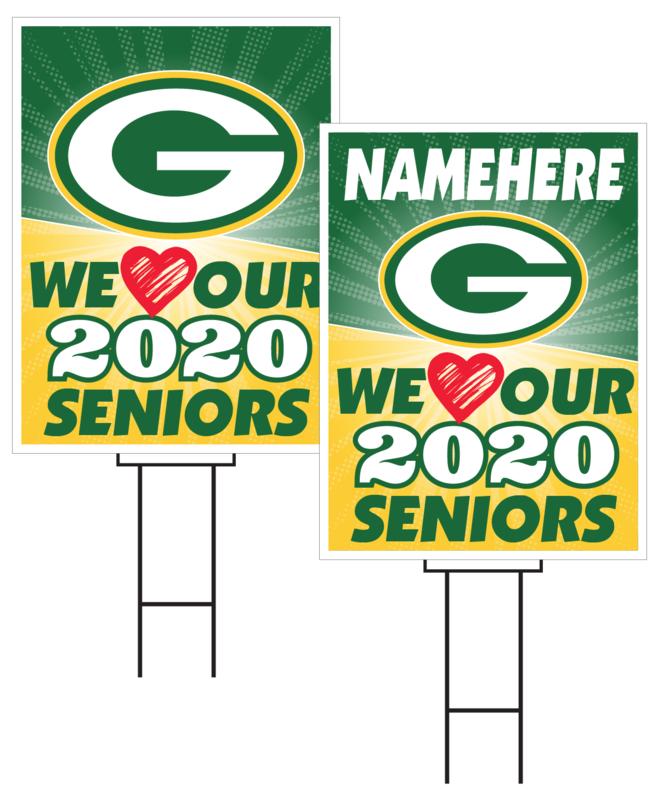 Gretna Senior Sign