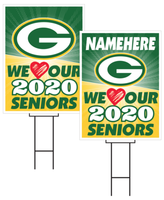 Gretna Senior Sign