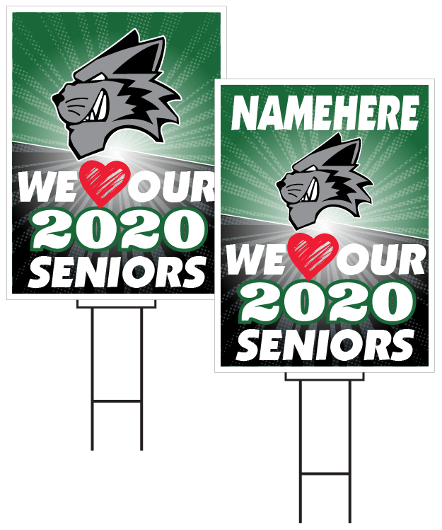 Millard West Senior Sign