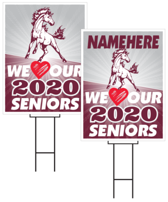 Shenandoah Senior Sign