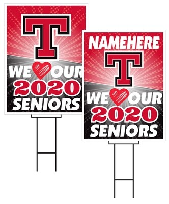 Treynor Senior Sign