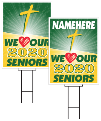 St Albert Senior Sign