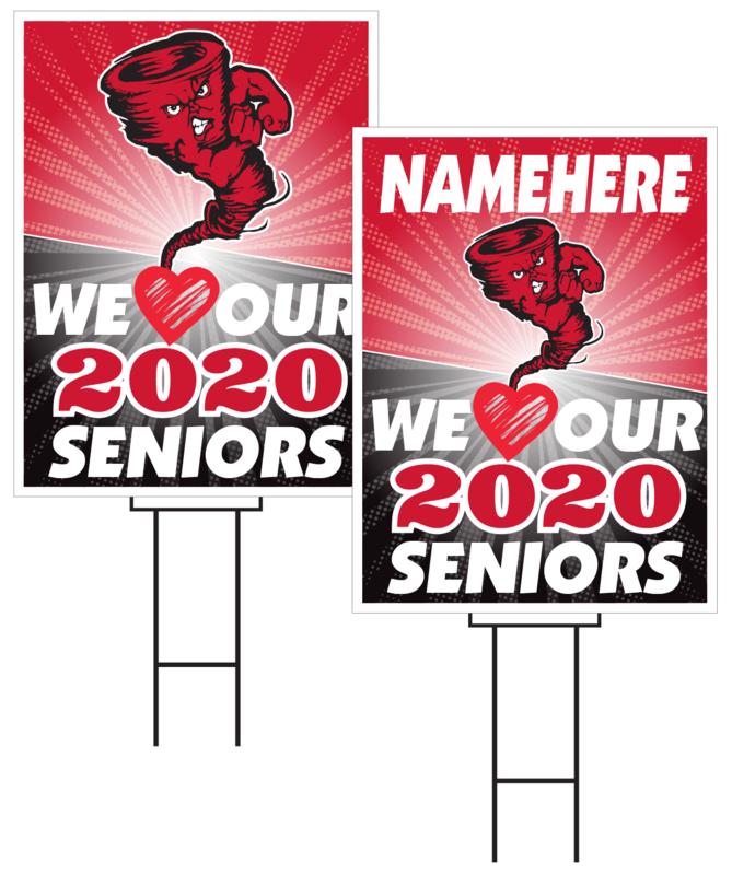 Harlan Senior Sign