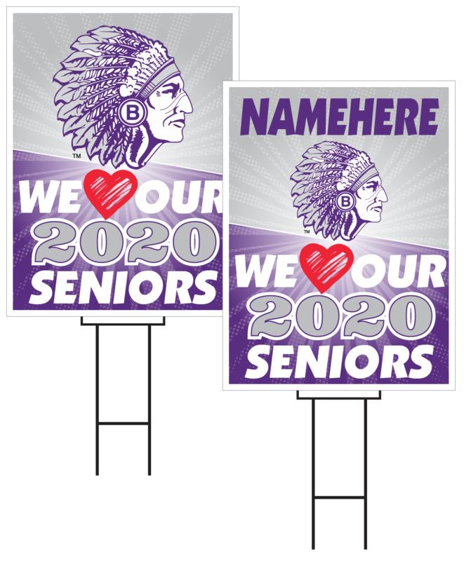 Bellevue East Senior Sign