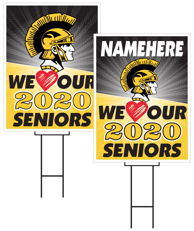 Tri-Center Senior Sign