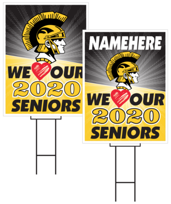 Tri-Center Senior Sign