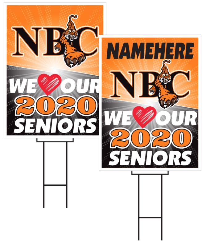 North Bend Central Senior Sign